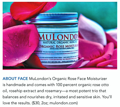 MuLondon Organic Rose, Rosehip & Rosemary Moisturiser.