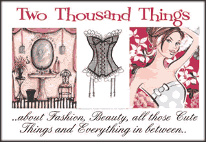Two Thousand Things Blog