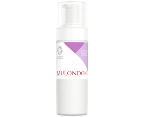 MuLondon Organic Lavender Foaming Cleanser