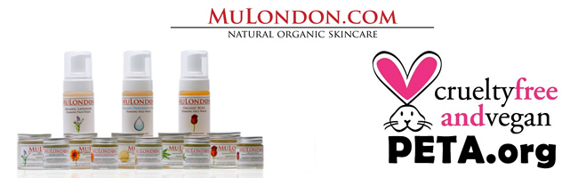MuLondon Skincare Products Approved Cruelty-Free & Vegan by PETA