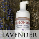 MuLondon Organic Lavender Moisturiser and Cleanser.