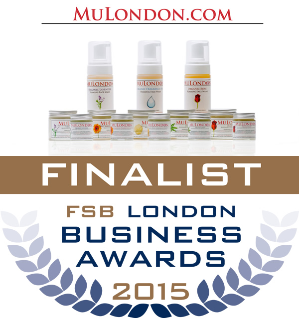 MuLondon is in the finals of the Federation Of Small Businesses Awards in two categories: Service Excellence and Green Award.