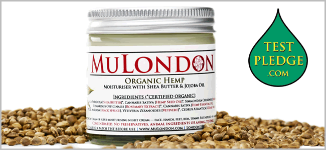MuLondon Signs Test Pledge For Hemp Products