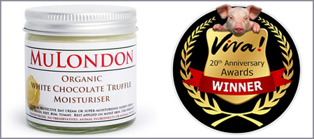 MuLondon Wins Best Vegan Cosmetic Product In Viva! Awards