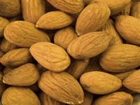 Almonds - almond oil.
