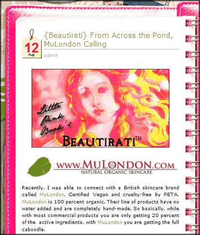 MuLondon Organic Rose Moisturier