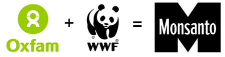 Oxfam and the WWF support Monsanto?