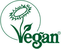 The Vegan Society logo.